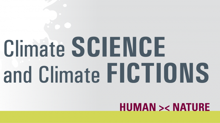 image depicting words Climate SCIENCE and Climate FICTIONS