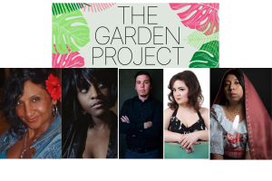 Photos of the artists involved in the Garden Project