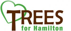 Trees for Hamilton logo